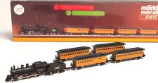 81419 Marklin Z-scale CASEY JONES Illinois Central RR Train set 5 pole motor USA