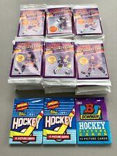 38+ - 1991 Score Nhl Hockey Card Sealed Packs From Wax Box - (No Box)