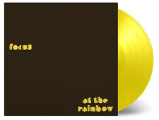 Focus / At The Rainbow 1 x yellow Coloured vinyl lp MOVLP324C