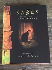 Cages - A Comic Novel by Dave McKean * Kitchen Sink Press 1998 1st Edition Rare