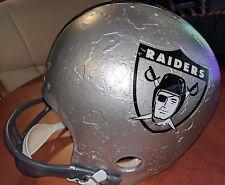 Oakland Raiders NFL Vintage 1963 MacGregor Throwback Logos Football Helmet