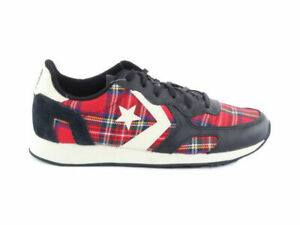 CONVERSE AUCKLAND RACER RED TARTAN Low Top Sneakers MULTICOLOR 146900C