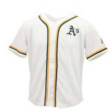 Oakland Athletics Official Mlb Genuine Apparel Kids Youth Size Jersey New Tags