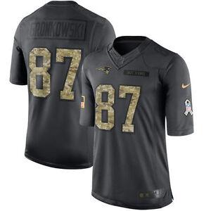 New England Patriots Rob Gronkowski Nike YOUTH Salute to Service Jersey MEDIUM