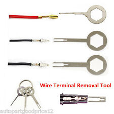 3pc Auto Car Electrical Terminal Wiring Removel Key Terminal Fast Extractor Tool