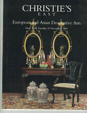 Christie's East - European & Asian Decorative Arts - Dec 22 1998