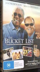 The Bucket List - DVD - Region 4 - PAL - Free Post