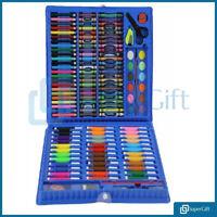 Kids Colouring Set 208PCS Artists Art Case Pencils Painting Childrens Craft