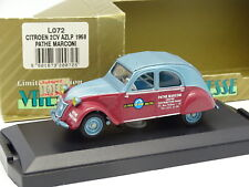 Vitesse 1/43 - Citroen 2CV AZLP Pathé Marconi 1958