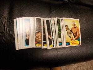 1985 Topps WWF Wrestling Set 1-66 near mint-mint