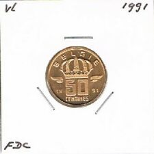 Belgium / België dutch 50 centimes 1991 BU - KM149.1