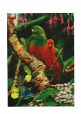 parrot flower 3D Lenticular Holographic Stereoscopic Picture Wall Art