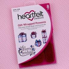 Heartfelt Creations Cling Rubber Stamp Set ~ Gift Wrapped and Presents, HCPC3748
