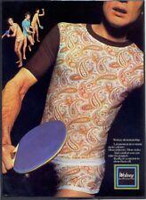 WOLSEY UNDERWEAR (Table Tennis) - Vintage 1970s ADVERTISEMENT. Free UK Post