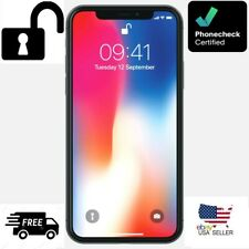 New listing Apple iPhone X-64Gb -Space Gray-(Unlocked)(Cdma+Gsm) -Grade B- Very Good