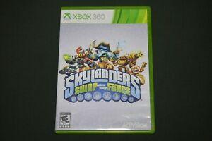 Skylanders: Swap Force (Microsoft Xbox 360, 2013) Game And Case