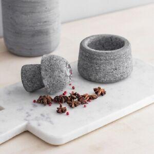 Grey Granite Spice Crusher by Garden Trading Kitchen Chef Cook Essential Gift