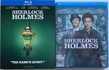 NEW SHERLOCK HOLMES BLU RAY + TARGET EXCLUSIVE QUOTE SLIPCOVER THE GAME'S AFOOT