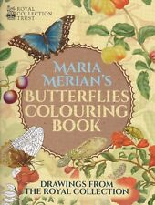 Butterflies Colouring Book by Maria Sibylla Merian (Paperback)