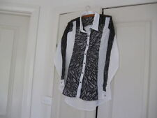 Viscose Regular Size Tops for Women with Buttons