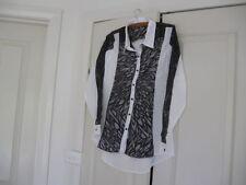 Regular Viscose Button Down Shirt Tops & Blouses for Women