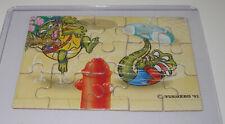 """Puzzle """"Crazy Crocos"""" 1993 Unten Rechts"""