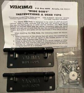 YAKIMA Widebody Bracket #08001 Brand New In Package!!!
