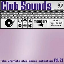 Club Sounds 21 (2002) Ravers on Dope, Rocco, Starsplash, Blank & Jones,.. [2 CD]