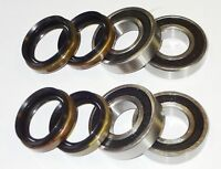 Yamaha 700 Rhino Both Rear Wheel Bearings Seals 2008 -  2013