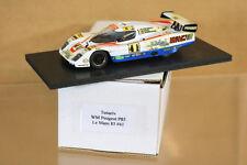 Tenariv Modelos Le Mans 1985 WM Peugeot P85 Coche 41 Pessiot Anic Fornage Dnf Nj