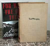 """For Whom the Bell Tolls, 1940, First Edition with """"A"""" by Ernest Hemingway"""