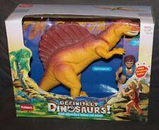 BOXED Vintage PLAYSKOOL Definitely Dinosaurs! FIGURES Trildar & Spinosaurus