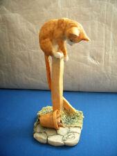 POLE CAT MODEL C5 CAT ON A POLE BORDER FINE ARTS SCOTLAND