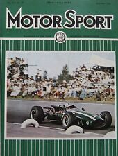 Motor Sport magazine 12/1966 featuring Rover P6 road test, Ford GT40, Daimler