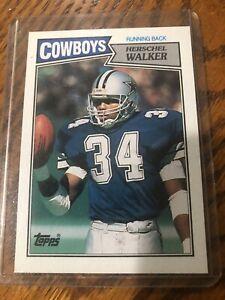 1987 Topps Herschel Walker Dallas Cowboys #264 Football Card NFL Rookie