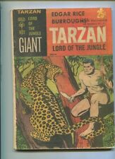 TARZAN GIANT GOLD KEY #1 SOLID GRADE ACTIO PACKED COVER GEM