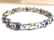 Authentic Negative Ion Effect Bracelet women's Swarovsk SILVER  balance Sale!