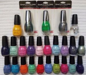 SINFULColors***Nail Color***>>>yOu chOOse cOLOr<<<~~~0.5 fl oz/15 ml~~BRAND NEW
