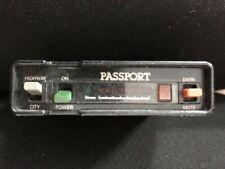 New listing Radar Detector Cincinnati Microwave Passport, working