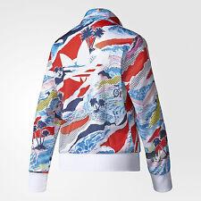 Adidas FIREBIRD VENICE BEACH Jacket Supergirl Track Sweat Shirt Top~Women size S