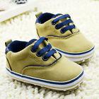 Baby Boy Toddler infant boy Soft Sole fashion prewalker Crib Shoes 0-18 Month