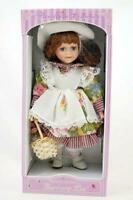 Heirloom Collection Petite Porcelain Doll Barbara Lee