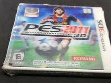 NEW! Pro Evolution Soccer PES 2011 3D Game (Nintendo 3DS) Brand New & Sealed