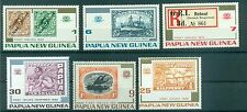 STAMP ON STAMP - PAPUA NEW GUINEA 1973 75th National Stamp