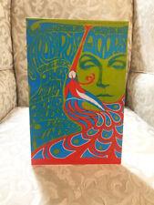 """The Doors and Yardbirds Repro Concert Poster Tabletop Standee 7"""" X 10.5"""""""