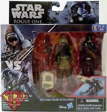 "REBEL PAO vs DEATH TROOPER Star Wars Rogue One 3 3/4"" inch Figure 2-pack 2016"