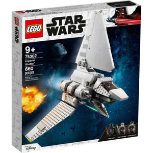LEGO 75302 Star Wars Imperieal Shuttle Brand New Sealed