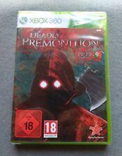 DEADLY PREMONITION XBOX 360 XBOX360 PRECINTADO SEALED