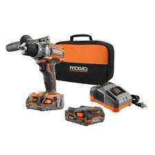 RIDGID 18-Volt Brushless 1/2 in. Compact Drill/Driver Kit #505