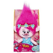 Dreamworks Trolls ~ TALKING POPPY PLUSH DOLL ~ Electronic Plushie